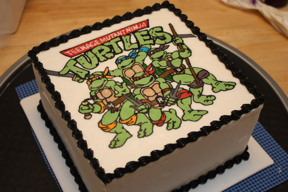 Ninja Turtle Decoration Ideas