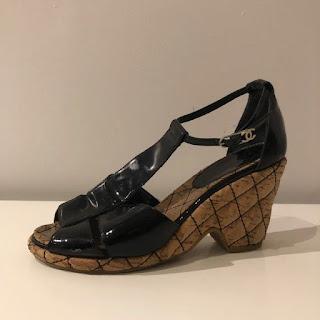 Chanel Cork Sandals