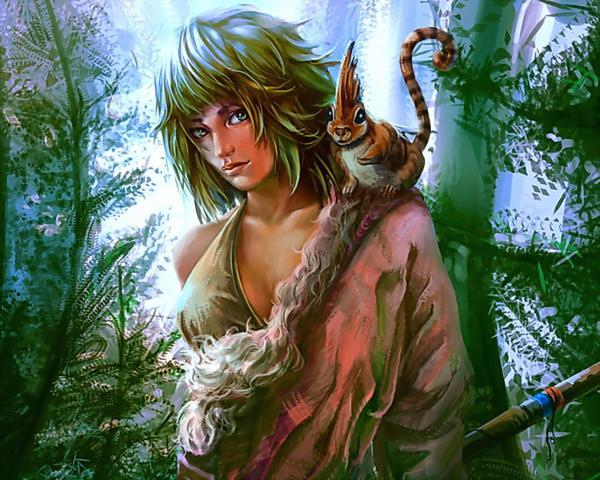 Hunter On The Alien Planet, Spirit Companion 1
