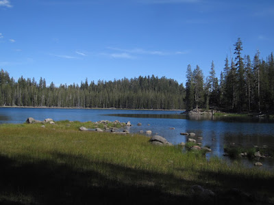 And that brings us to Triangle Lake.  Let's camp here!   ©http://backpackthesierra.com