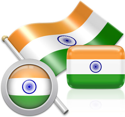 Indian flag icons pictures collection