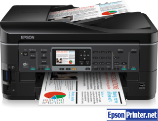 Reset Epson BX630FW printing device by software