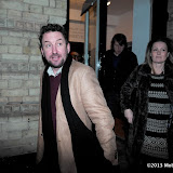 WWW.ENTSIMAGES.COM -  Lee Mack at    HOT VALVE LEAK: Visual Ramblings of Vic Reeves - private view at The Strand Gallery  London February 12th 2013                                                   Photo Mobis Photos/OIC 0203 174 1069
