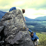 1964 Moel Hebog,Margaret Embing and Gerry Brown.jpg