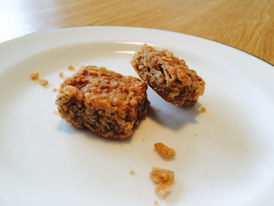Photo of sensory banana flapjack