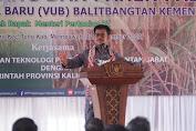 Semangat Mentan Syahrul Menghadiri Panen Padi Varietas Unggul di Kalbar