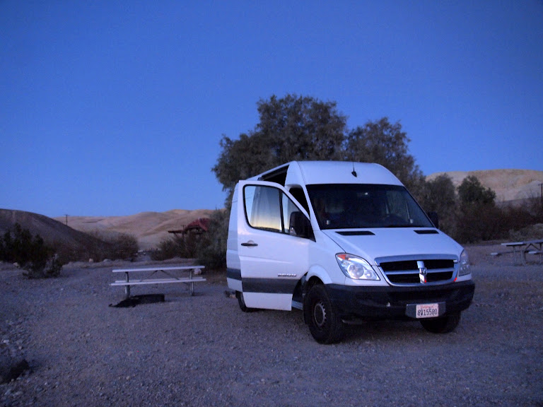 The Sprinter in Death Valley - $17/night