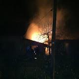 Brand Gartenlaube
