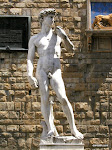 Replica of Michelangelo's David, Florence  [2002]