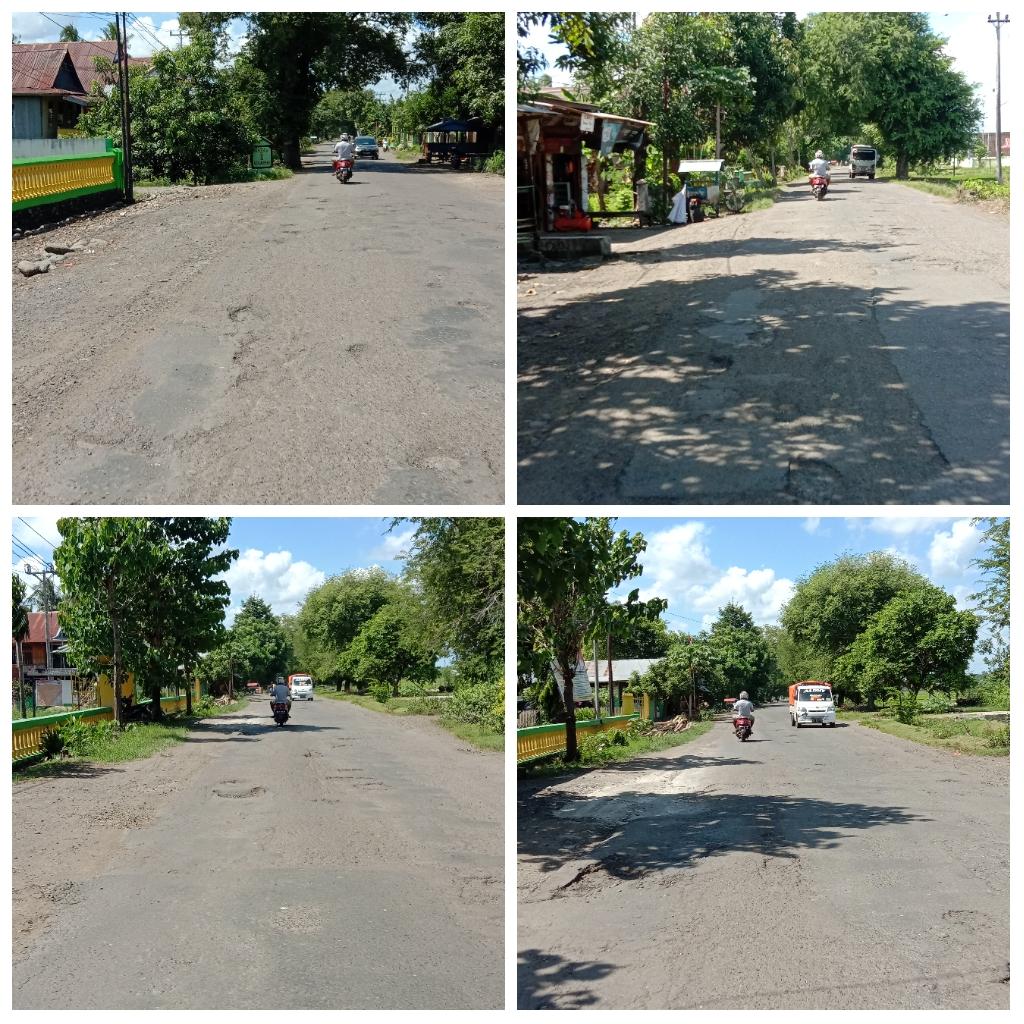 Jalan Provinsi di Maccile Soppeng dikeluhkan Pengguna Jalan