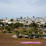 mission dolores park in San Francisco in San Francisco, California, United States