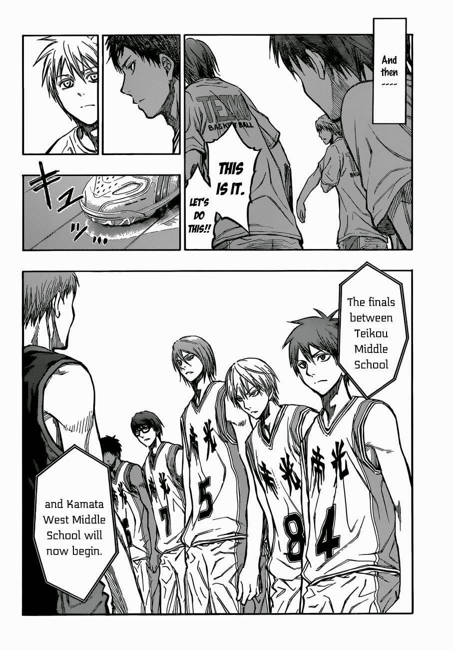 Kuroko no Basket Manga Chapter 215 - Image 18
