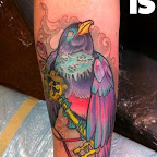 forearm key - Bird Tattoos