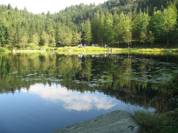 Lago de Bergen-Noruega
