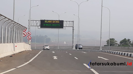 Sukabumi - Bogor Lancar, Durasi Traffic Light Pintu Tol Bocimi Dipastikan Tidak Membuat Macet