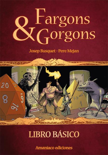 Fargons & Gorgons Libro basico