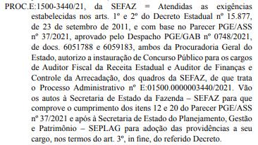 Concurso Sefaz AL divulga autorização para abertura de novo edital.