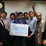 HK$ 300,000 is Finally handed over to NRNA Hong Kong