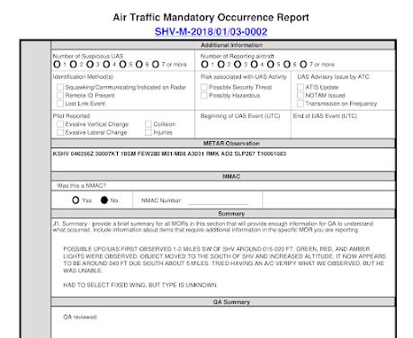 image Los encuentros más extraños con aeronaves no identificadas que se han encontrado en la enorme base de datos de la Fuerza Aérea de los EEUU