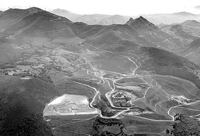Explotación de oro, cobre y plata en El Valle-Boinás (Belmonte de Miranda, Asturias)