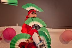 The Japanese Folk Dance Institute of New York performs on the Cherry Esplanade Stage during Sakura Matsuri 2011.