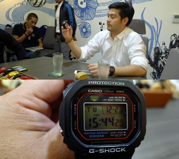 นักสะสม G-Shock รุ่น DW 5000c