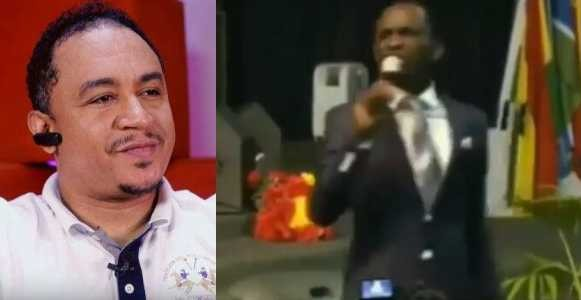 Daddy Freeze replies Pastor Enenche who called him an insignificant, microscopic piece of material