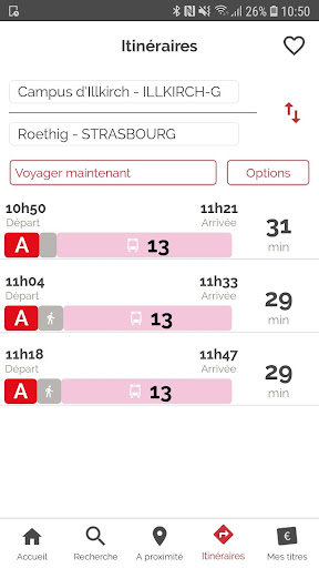CTS Transports Strasbourg screenshot 2