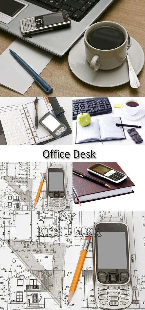 Stock Photo: Office Desk