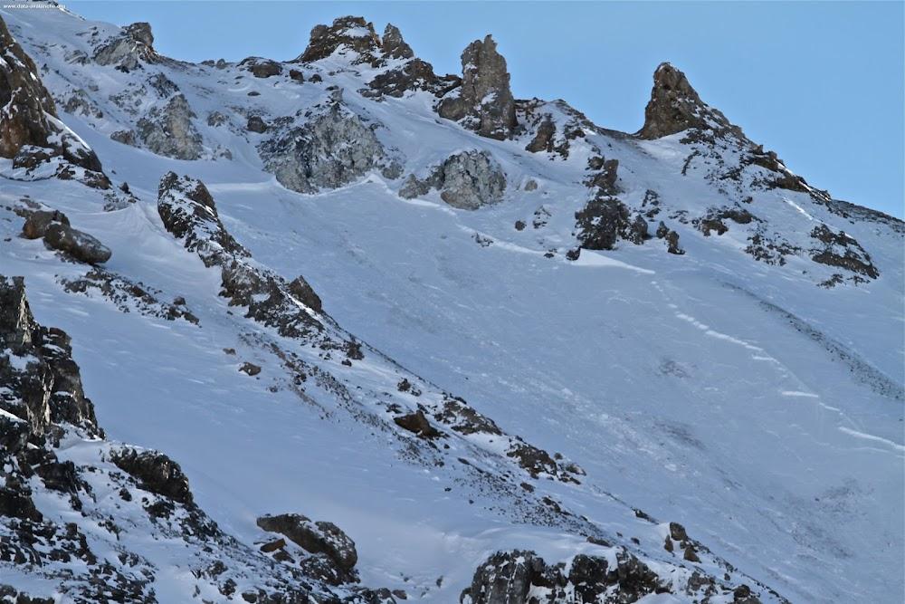 Avalanche Haute Tarentaise, secteur Aiguille Percée, Vallon de la Sache - Photo 1