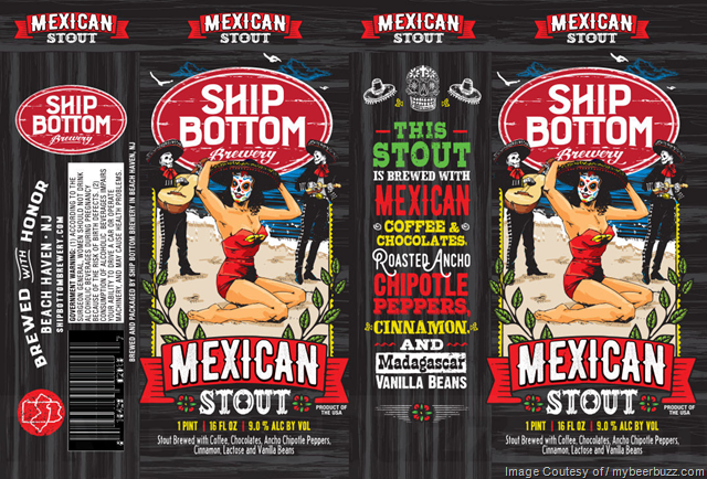 Ship Bottom Brewery Mexican Stout