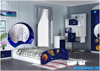 Inspirasi Seni kamar tidur