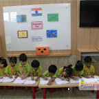 Rectangle Day Celebrated by Nursery Afternoon Section, Witty World, Chikoowadi (2017-18)