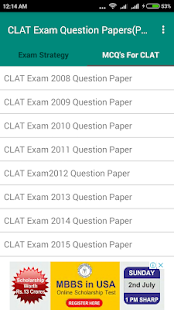 CLAT Exam Question Papers - náhled