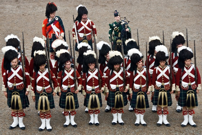 78th Highland Regiment. Credit Ann Baekken