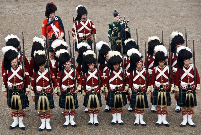 78th Highland Regiment. Credit Ann Baekken