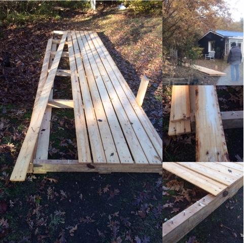 Bouwen met pallethout