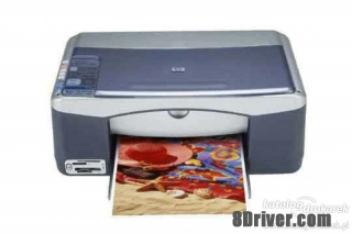 Free download HP PSC 1340 All-in-One Printer driver & install