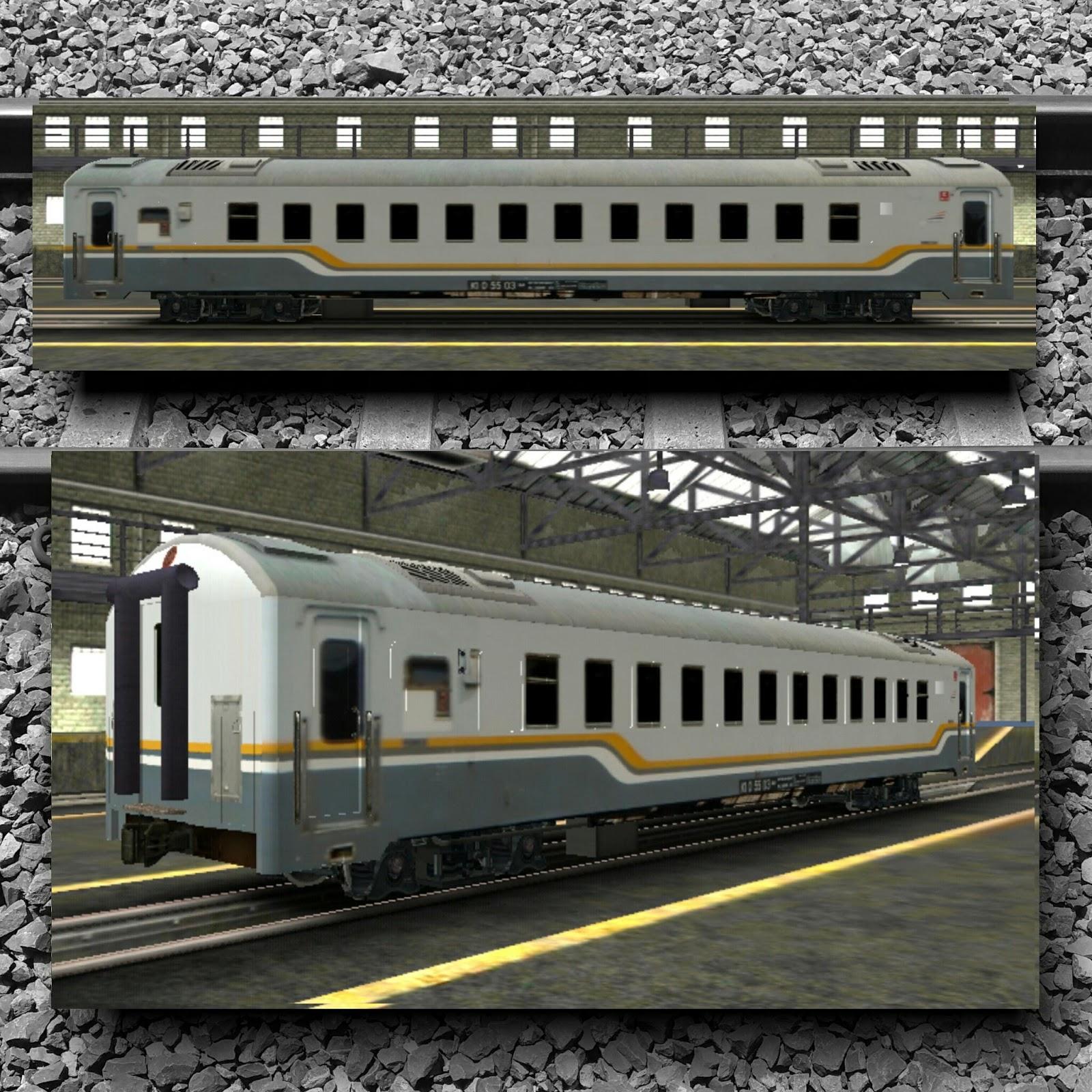 Train simulator di android