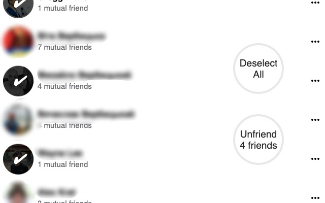 Mass Friends Remover for Facebook™