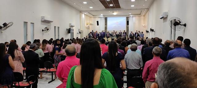 ADTC em Quixadá-Ce está em festa pelo aniversário do pastor Sidiclei
