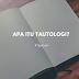 Mengenal Tautologi dalam Bahasa Indonesia