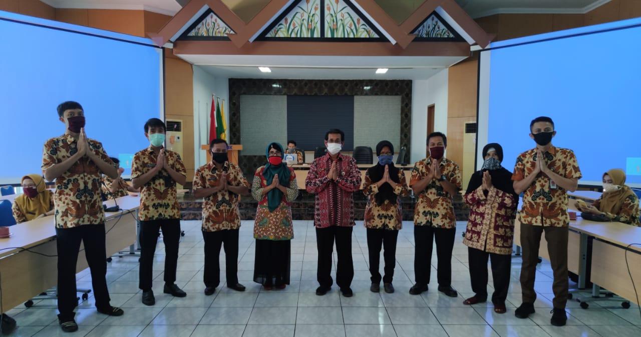 Kepala Balai BBPP Batangkaluku Bersama Jajaran Ikuti HBH Bersama Kementan Via Virtual