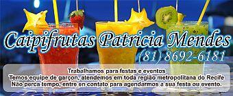 Caipifrutas Patricia Mendes