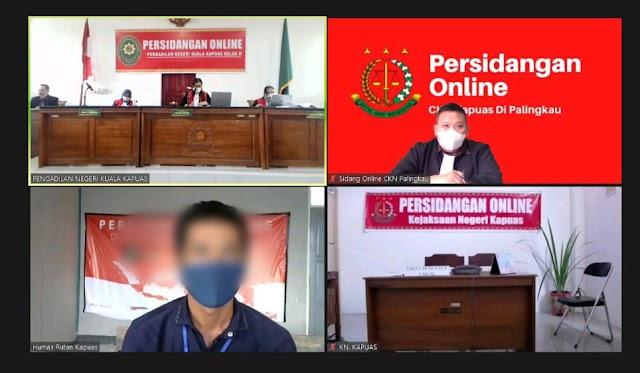 Hakim PN Kapuas Vonis Terdakwa Pembunuhan 7 Tahun Penjara