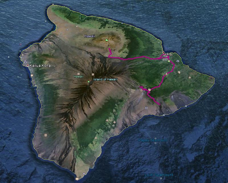 Hawaii 2013 - Best Story-Telling Photos - Hawaii%2BGPS%2BTrack.png