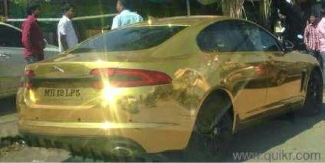 Real Estate Businessman Sachin Khese Is Now Used To People Staring At His  Car As He Drives Through The Narrow And Crowded Pune Roads. A Rs 2 Lakh Gold  Wrap ... Design Ideas