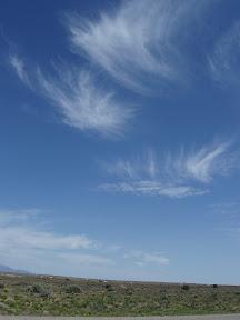 Big sky on the Navajo Reservation.