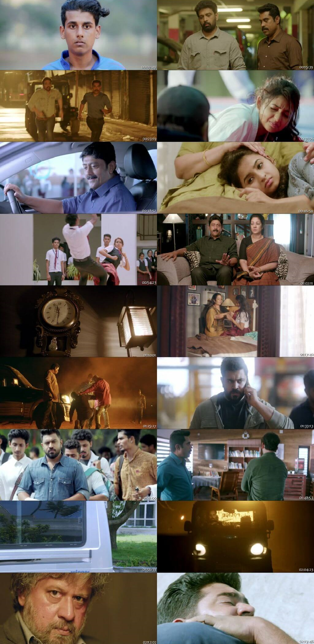 Screen Shot Of Mikhael 2019 300MB Full Movie Hindi Dubbed Free Download 480P BRRip Small Size PC Movie