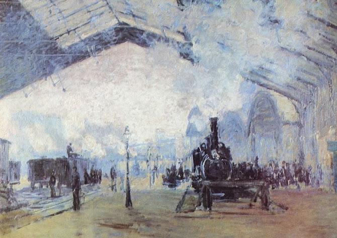 La stazione di Claude Monet